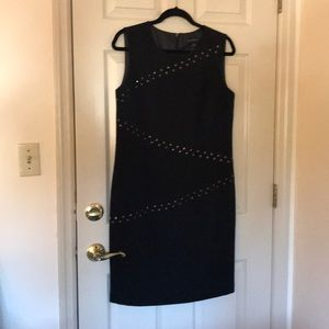 Tribal little black dress